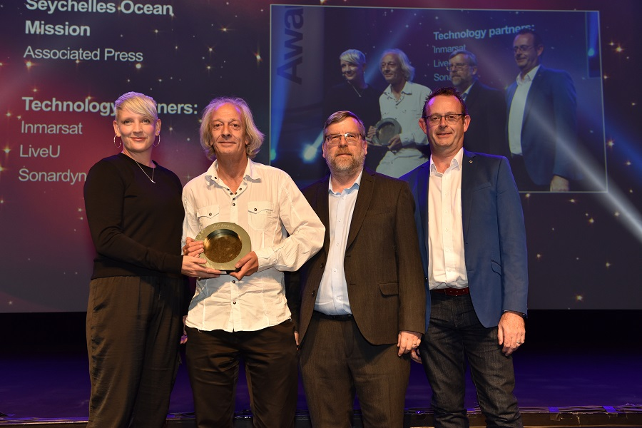 AP wins IBC Innovation Award for underwater live video transmission