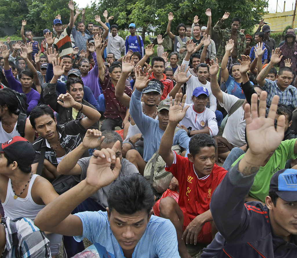 Over 300 Slaves Rescued From Indonesia Island After Ap